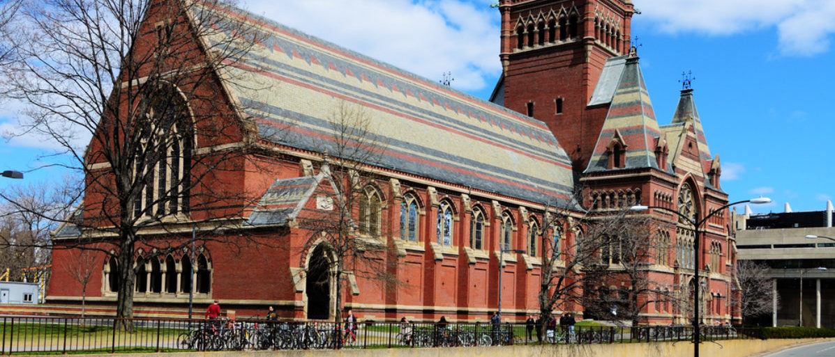 Featured is Memorial Hall at Harvard University in Boston, Massachusetts. Memorial Hall was erected in honor of Harvard graduates who fought for the Union in the American Civil War. (Shutterstock/Sean Pavone)