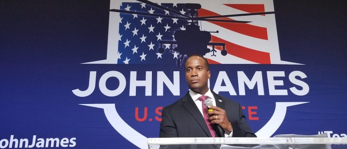 Combat Veteran John James Wins Michigan GOP Senate Primary
