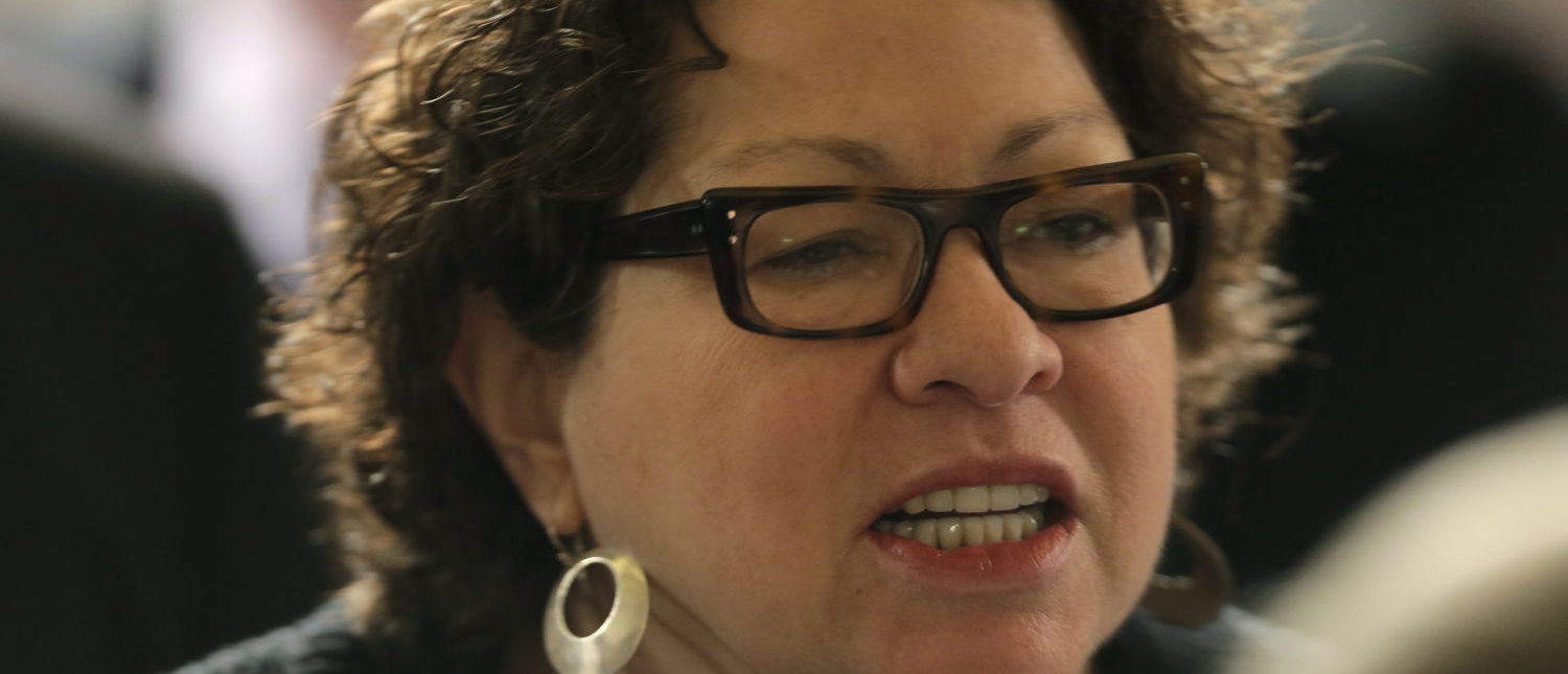 Justice Sotomayor: I'm The Perfect Affirmative Action Child