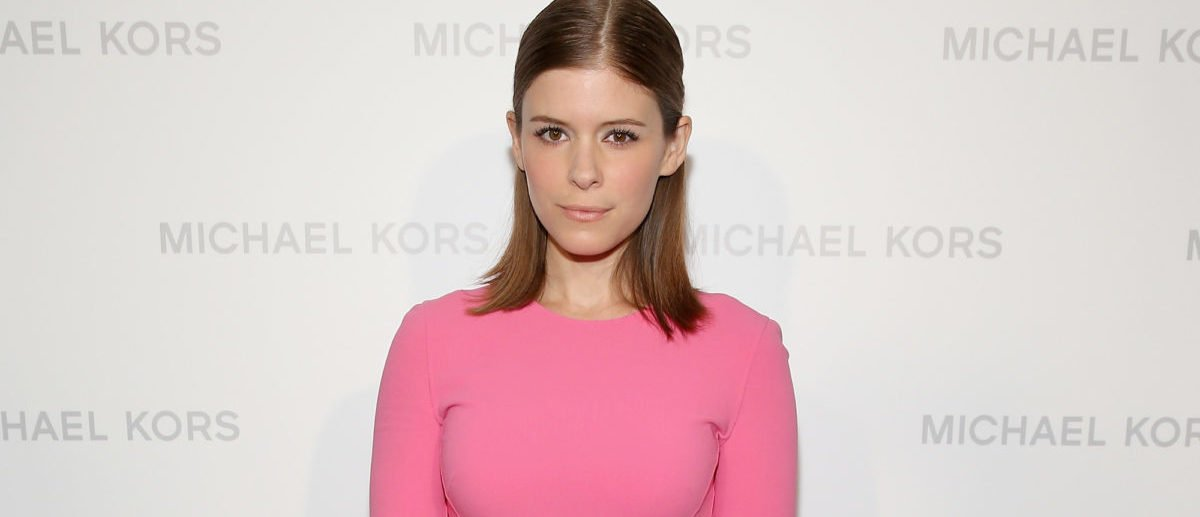 NEW YORK, NY - SEPTEMBER 11: Actress Kate Mara poses backstage at the Michael Kors fashion show during Mercedes-Benz Fashion Week Spring 2014 at The Theatre at Lincoln Center on September 11, 2013 in New York City. (Photo by Neilson Barnard/Getty Images for Michael Kors)