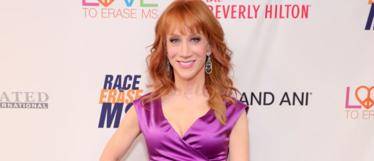 BEVERLY HILLS, CA - MAY 05: Comedian Kathy Griffin attends the 24th Annual Race To Erase MS Gala at The Beverly Hilton Hotel on May 5, 2017 in Beverly Hills, California. (Photo by Neilson Barnard/Getty Images for Race To Erase MS)