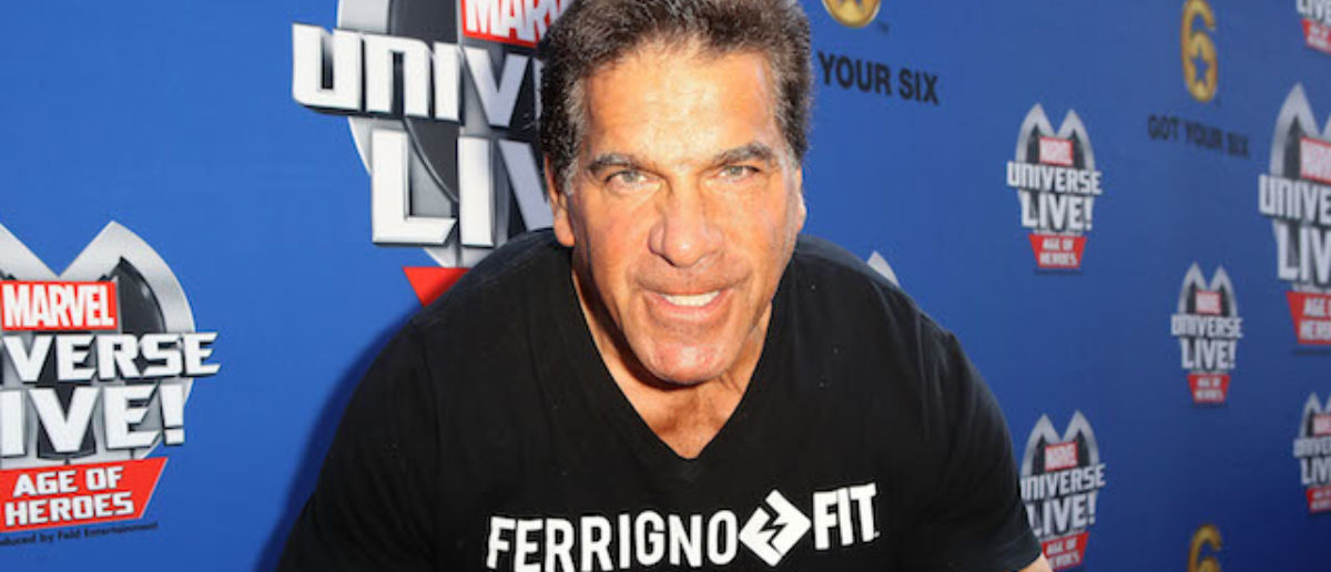 Actor Lou Ferrigno arrives at Marvel Universe LIVE! Age Of Heroes World Premiere Celebrity Red Carpet Event at Staples Center on July 8, 2017 in Los Angeles, California. (Photo by Ari Perilstein/Getty Images for Feld Entertainment)