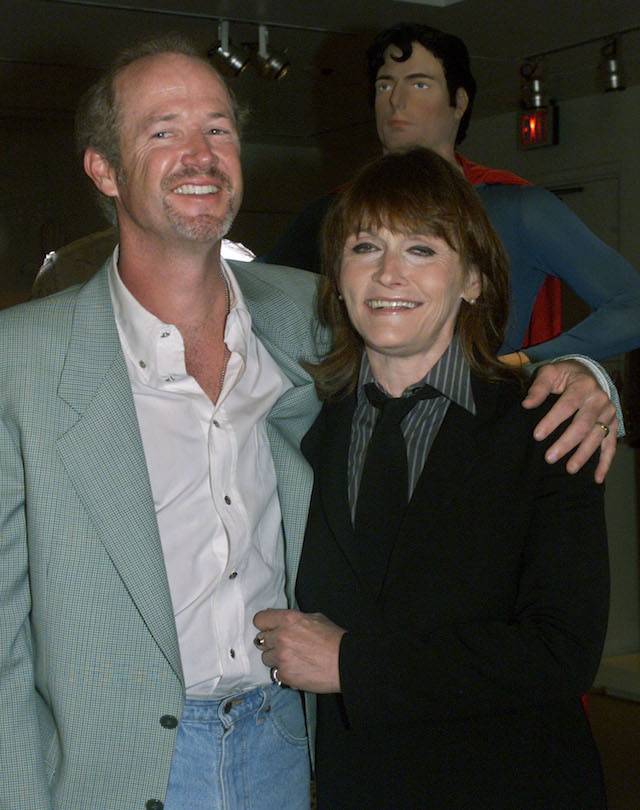"""The Movie"""" at the Warner Bros. studio museum in Burbank May 1, 2001. Kidder portrayed Lois Lane and McClure played Jimmy Olsen in the film which also starred Christopher Reeve as Superman. Warner Bros. brought the cast together for the release of the film on DVD. (Photo: Reuters Images)"""