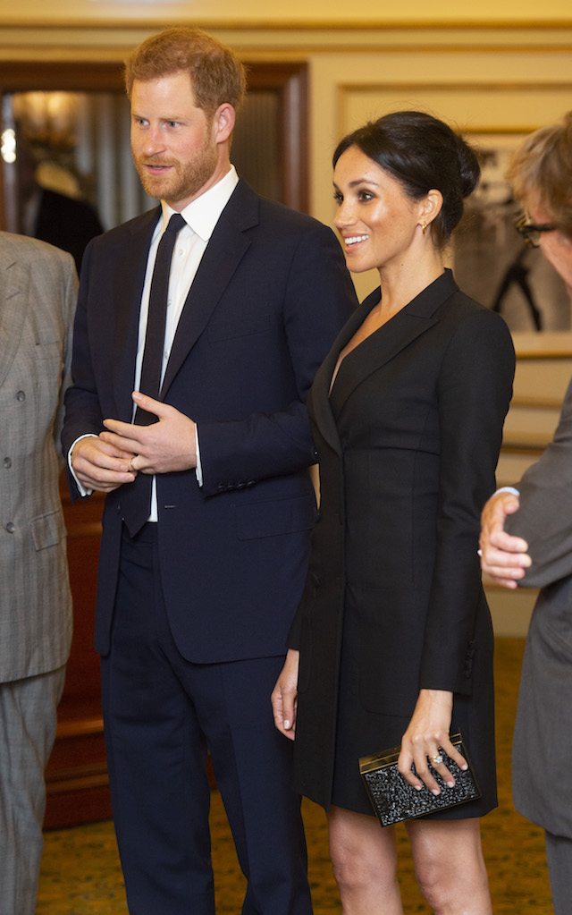 Meghan Markle Joined the Royal Family for Christmas Lunch at Buckingham Palace
