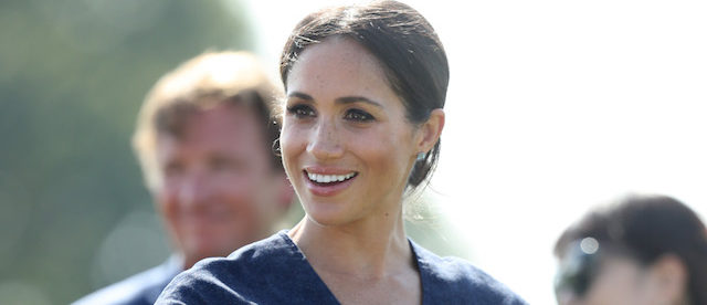 Meghan Duchess of attends the Sentebale Polo 2018 held at the Royal County of Berkshire Polo Club on July 26, 2018 in Windsor, England. (Photo by Chris Jackson/Getty Images)
