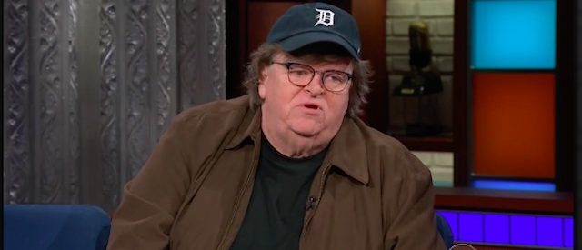 Michael Moore (Photo: CBS Screenshot)