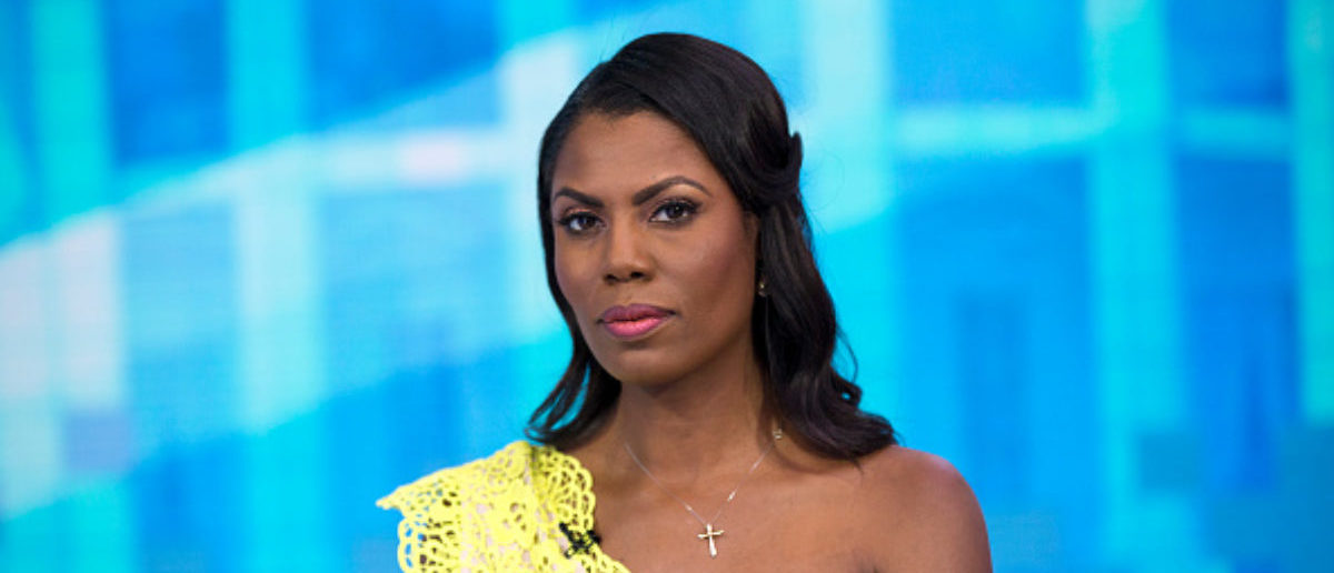 TODAY -- Pictured: Omarosa Manigault-Newman on Monday, August 13, 2018 -- (Photo by: Zach Pagano/NBC/NBCU Photo Bank via Getty Images)