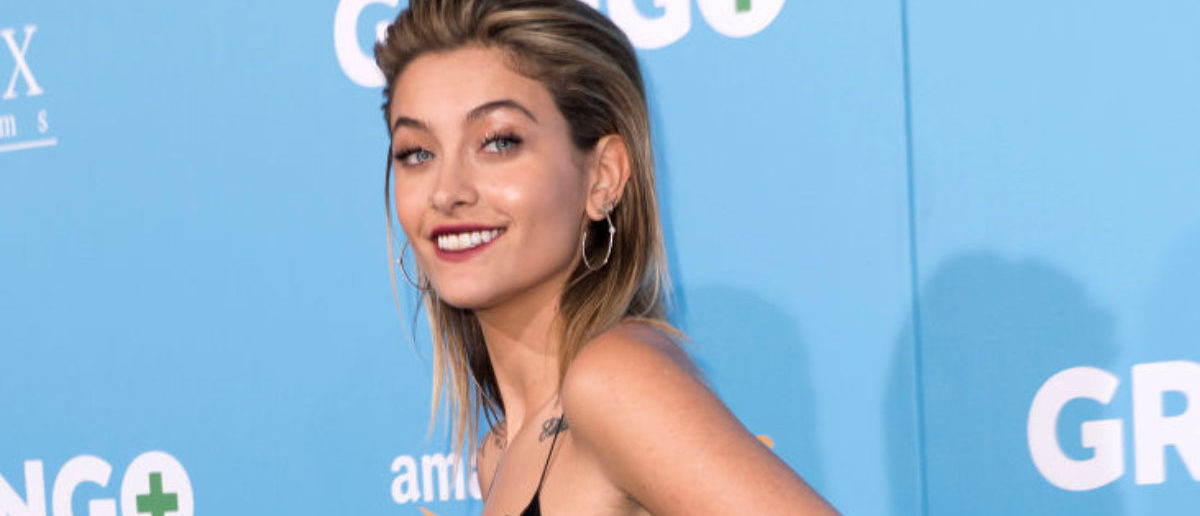Actress Paris Jackson attends Amazon Studios' world premiere of 'Gringo' on March 6, 2018 in Los Angeles, California. (Photo credit: VALERIE MACON/AFP/Getty Images)