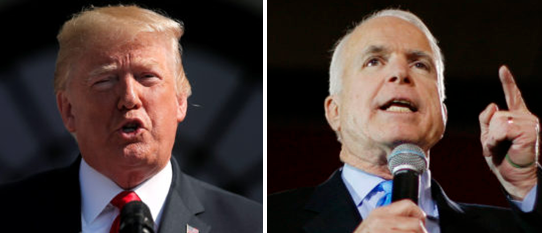 Trump Critics Use John McCain's Funeral To Criticize The President — Here's What They Said