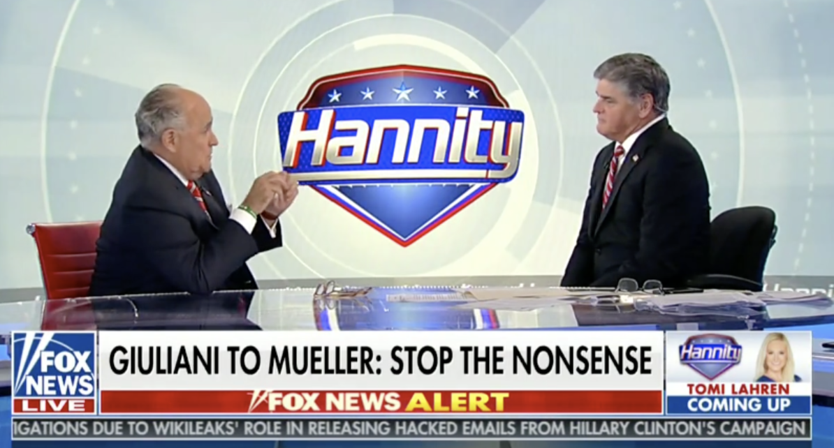 Rudy Giuliani Predicts Russia Probe Will 'BLOW UP' On Dems, Mueller