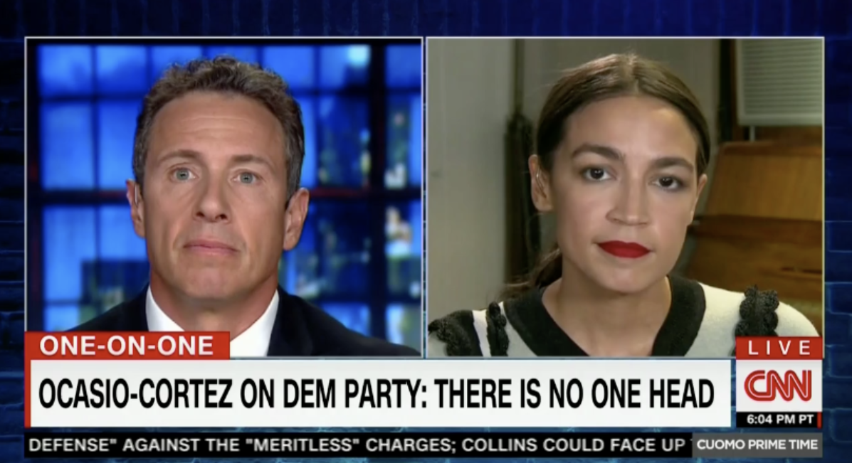 Alexandria Ocasio-Cortez Wiggles Out Of Question About Potentially Backing Pelosi For Speaker
