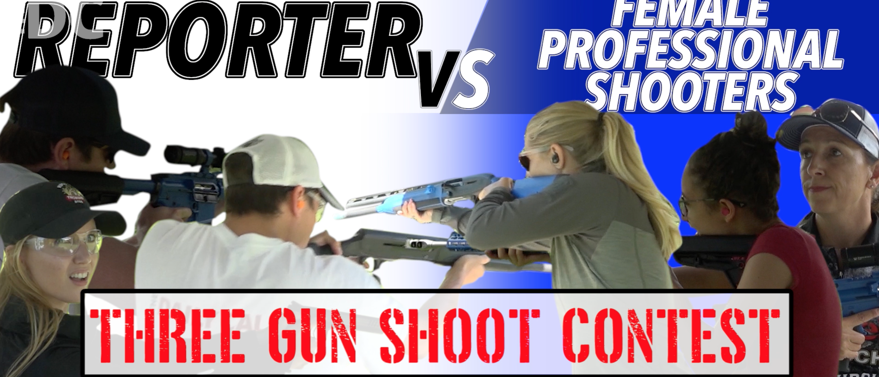Reporter Vs. Professional Female Shooters Of The DC Project
