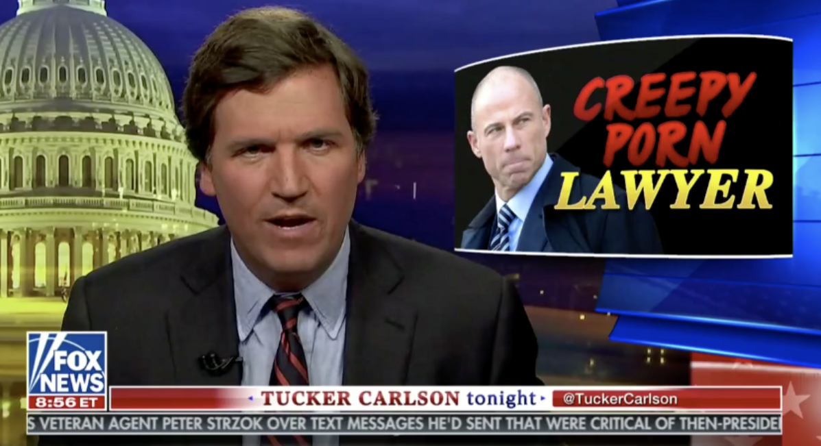 Tucker Carlson And Mark Steyn Laugh Uncontrollably Over The Thought Of 'President Porn Lawyer' Avenatti