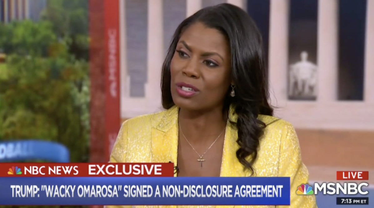 Omarosa Offers Mueller A Chance To Review Her Tapes, Thinks Trump Should Be Impeached