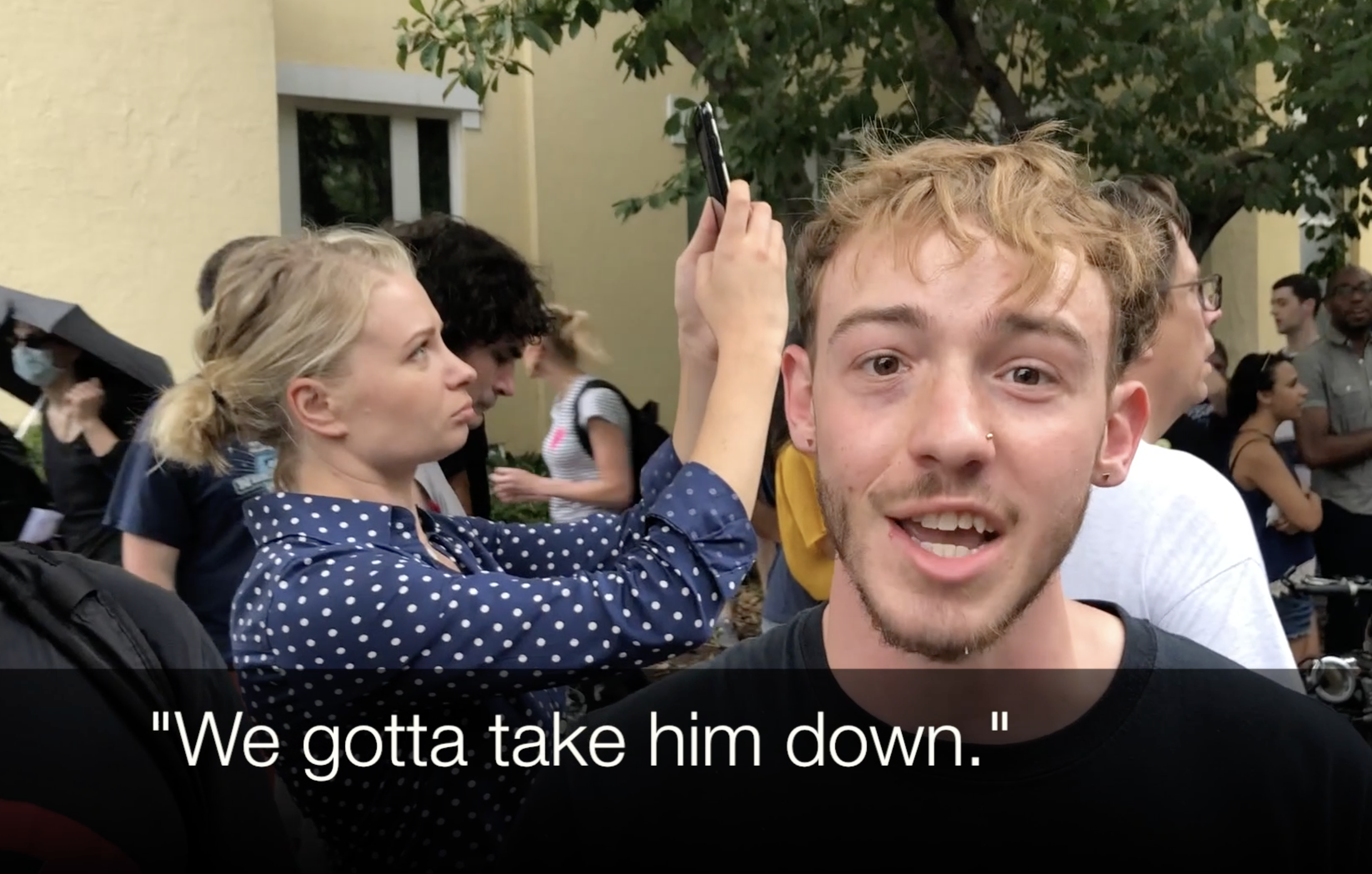 I Asked Leftists Protesters What They Would Do If They Met Trump – Their Answers Horrified Me