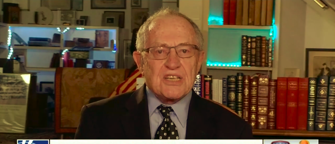 Dershowitz Educates TV Pundits On The Law- 'Hope Can't Substitute For Reality'