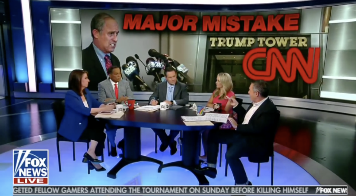 'The Five' Questions CNN's Credibility For Standing By Trump Tower Story