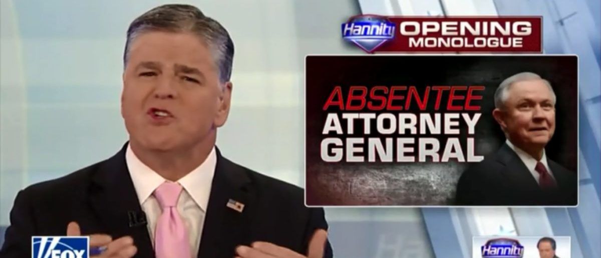 Sean Hannity Jabs Jeff Sessions For Committing 'Tremendous Disservice' To Trump