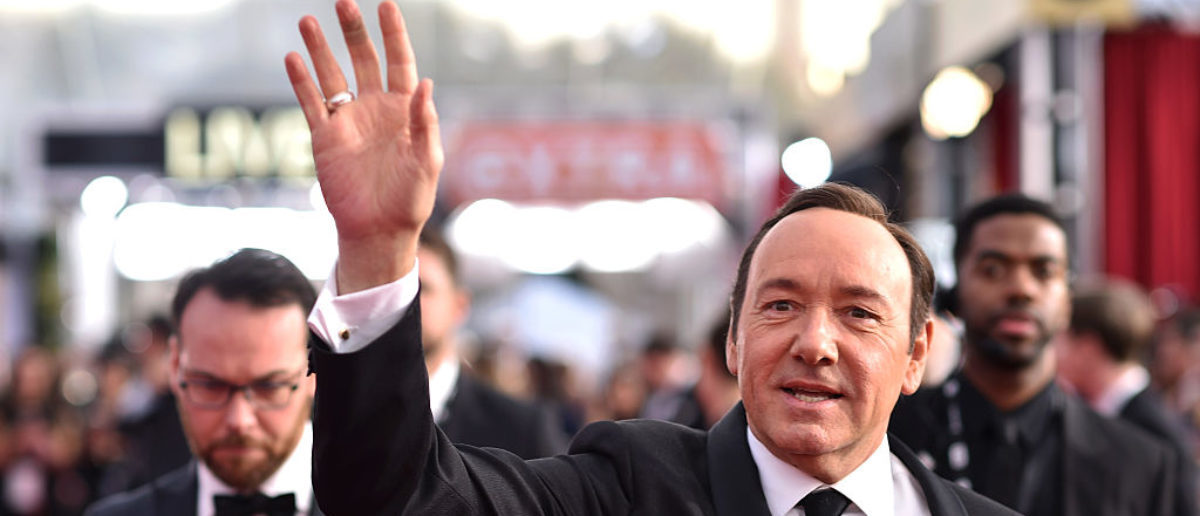 Actor Kevin Spacey attends The 22nd Annual Screen Actors Guild Awards at The Shrine Auditorium on January 30, 2016 in Los Angeles, California. 25650_013 (Photo by Dimitrios Kambouris/Getty Images for Turner)