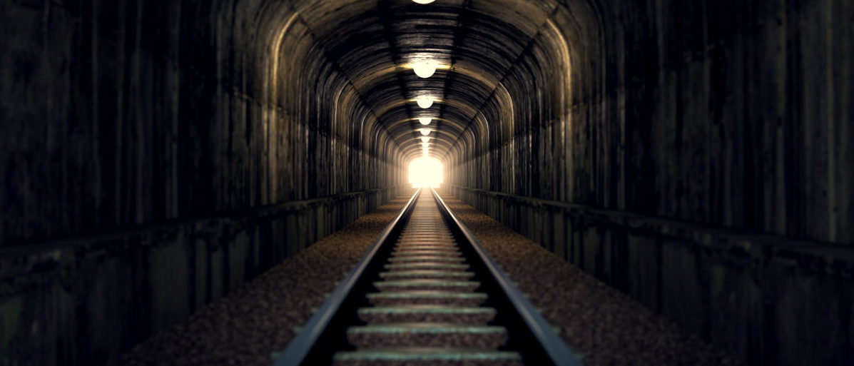 A Canadian was arrested for smuggling illegal immigrants through a train tunnel. SHUTTERSTOCK/ Dabarti CGI