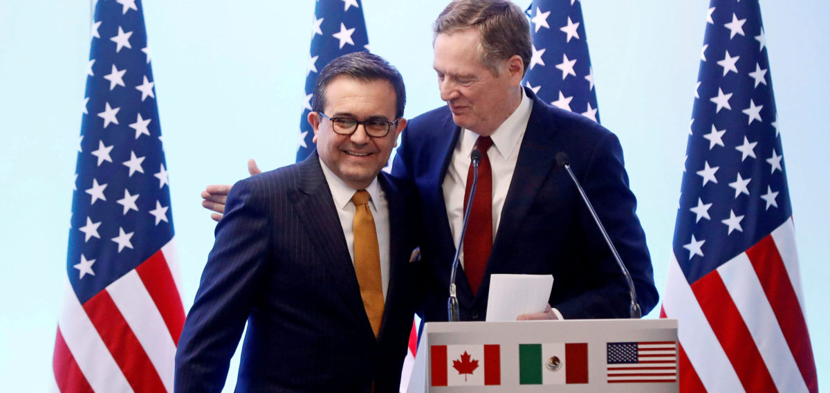 US And Mexico On The Brink Of New NAFTA Deal