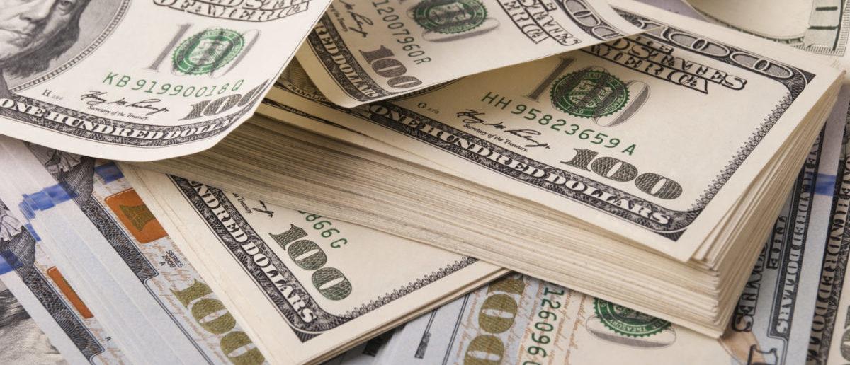 USA dollar banknotes -- ShutterStock ElenaR