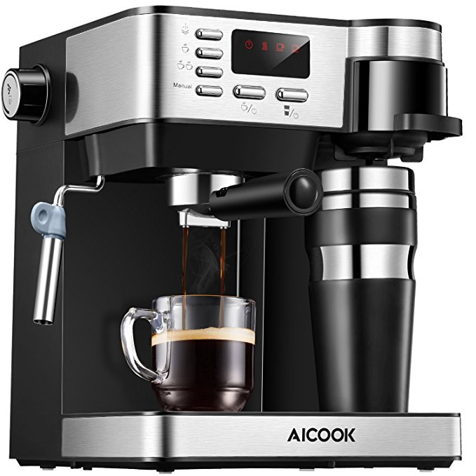 Normally $400, this #1 bestselling espresso and coffee machine is 75 percent off (Photo via Amazon)