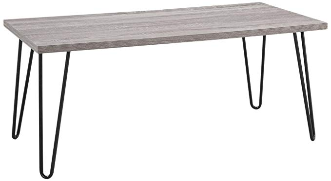 Normally $92, this coffee table is 58 percent off today (Photo via Amazon)
