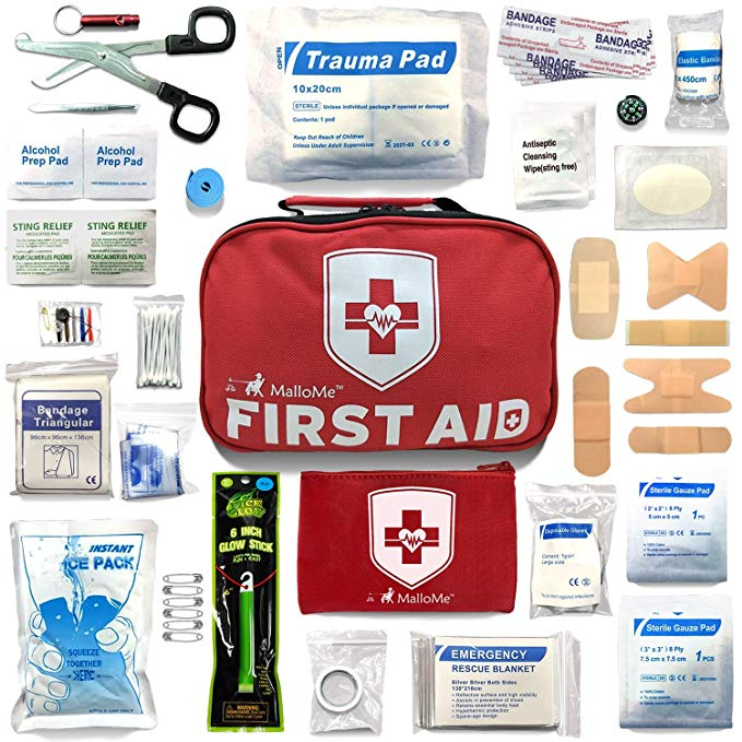 Normally $60, this first aid kit is 67 percent off (Photo via Amazon)