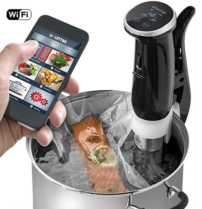 Normally $200, this sous vide machine is 63 percent off today (Photo via Amazon)