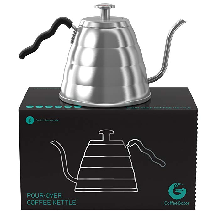 Normally $71, this pour over kettle is 54 percent off today (Photo via Amazon)