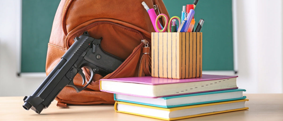 A report warns that Los Angeles schools were not adequately meeting school safety measures, despite having tough gun laws. SHUTTERSTOCK/ via user Africa Studio