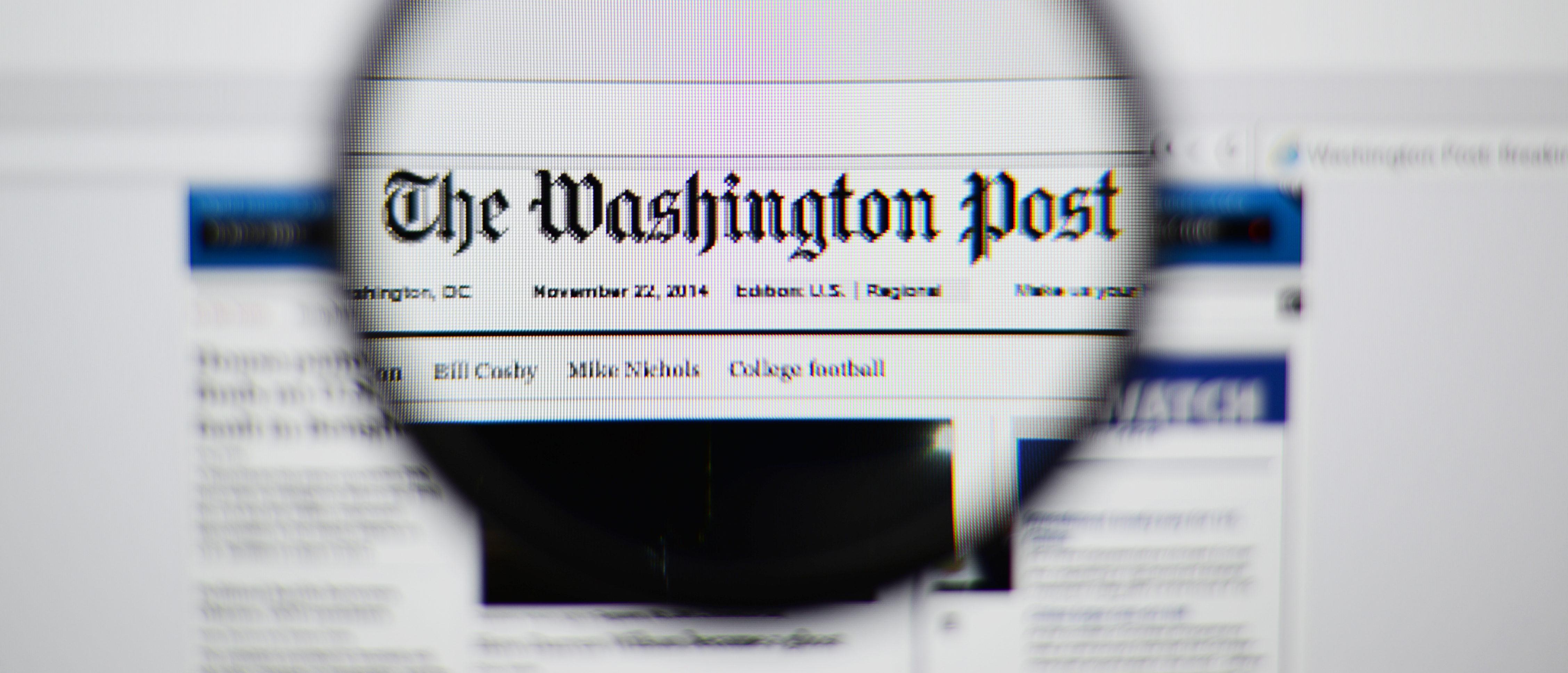 Washington Post polling skepticism/ Shutterstock
