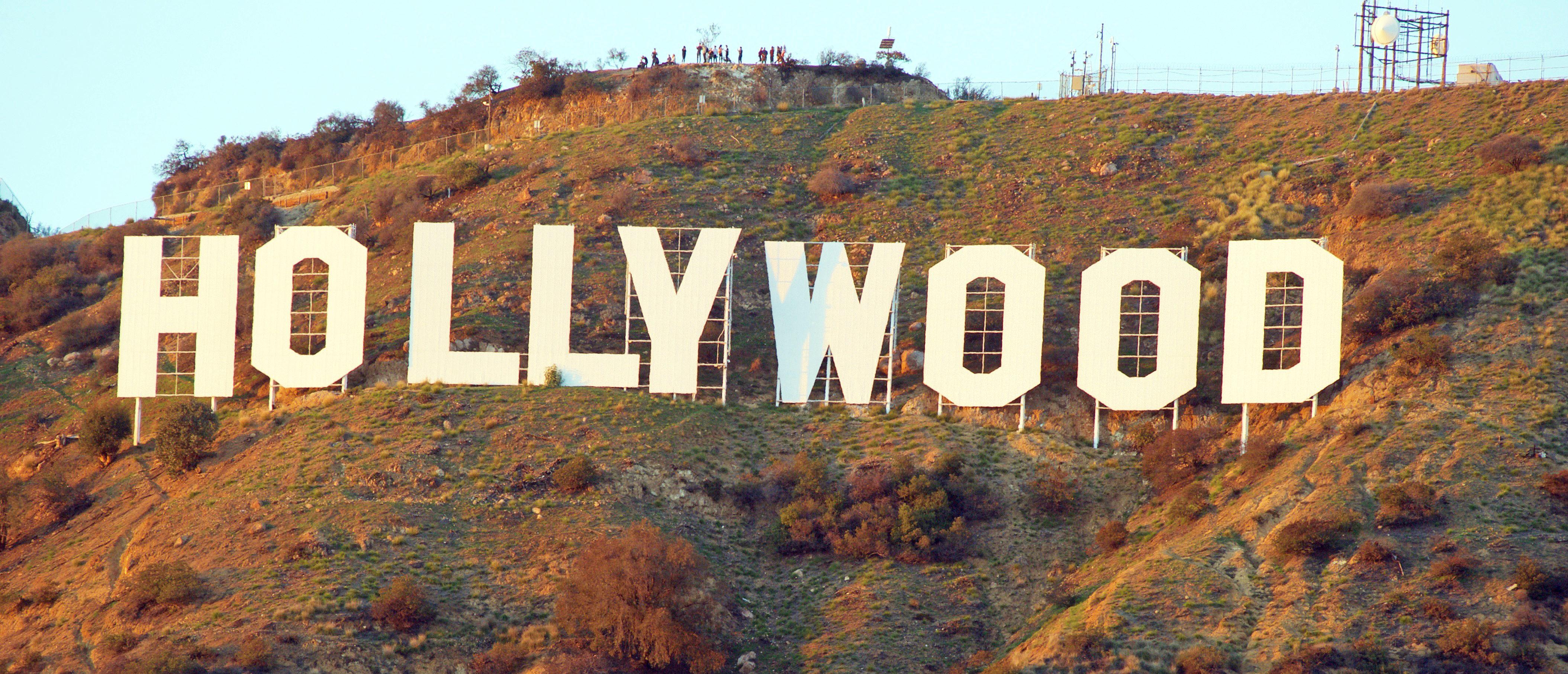 Hollywood sign, Shuttertsock