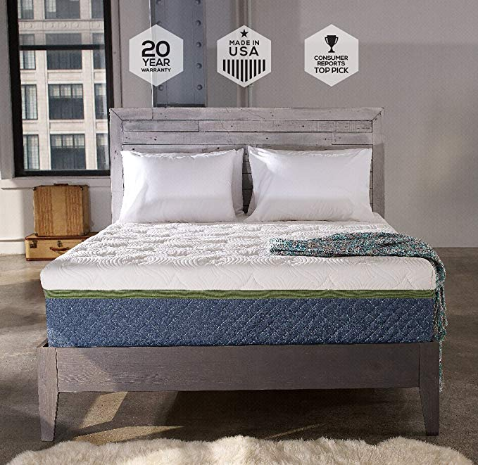 Normally $650, this mattress pad is 39 percent off (Photo via Amazon)