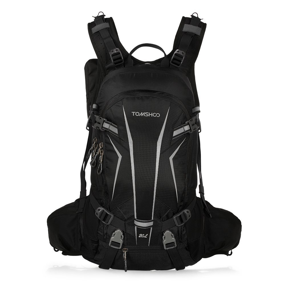 Normally $36, this hiking backpack is 28 percent off with code TOMSHOOl (Photo via Amazon)