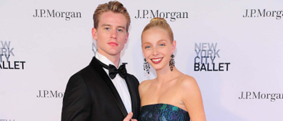 NEW YORK, NY - MAY 03: Chase Finlay and Alexandra Waterbury attends New York City Ballet 2018 Spring Gala at David H. Koch Theater, Lincoln Center on May 3, 2018 in New York City. (Photo by Owen Hoffmann/Patrick McMullan via Getty Images)