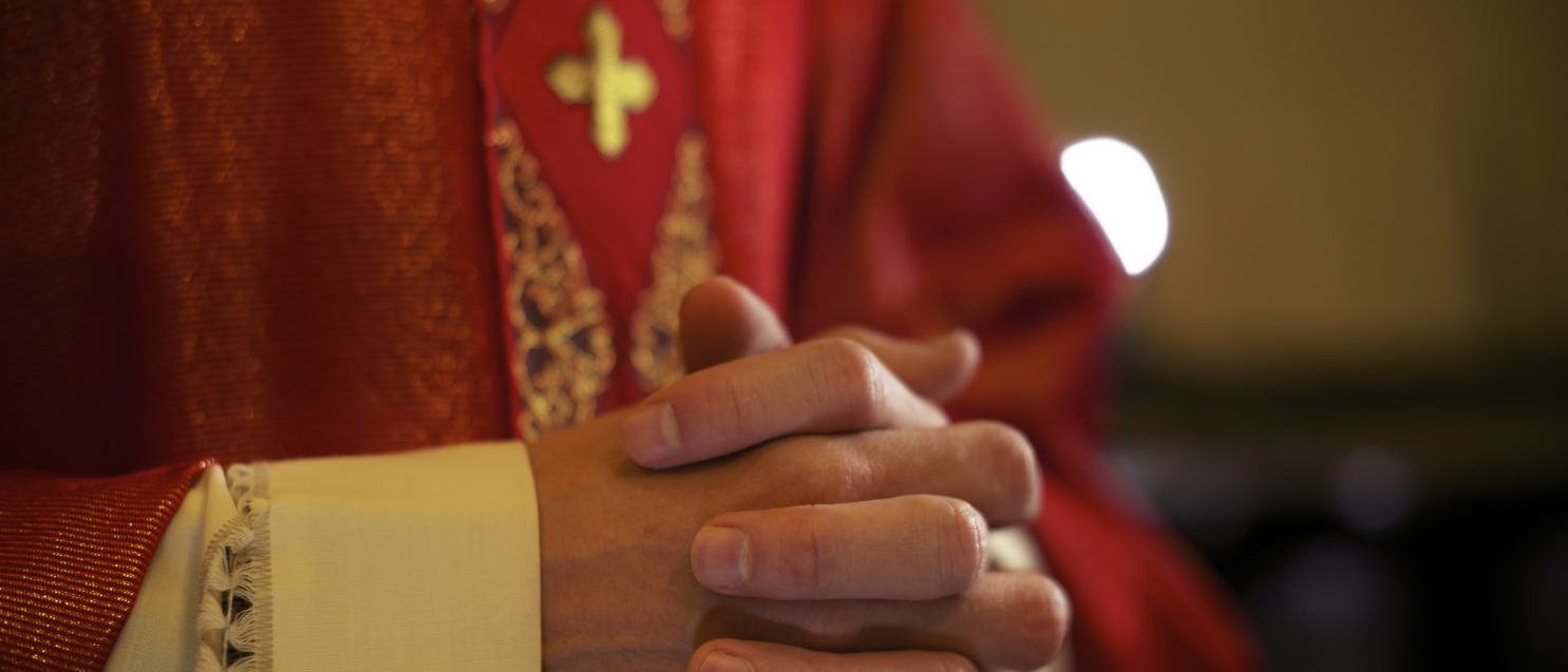 Pictured is a bishop at mass. (Shutterstock/Diego Cervo)