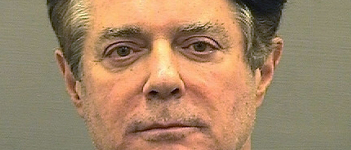 FILE PHOTO: Former Trump campaign manager Paul Manafort is shown in this booking photo in Alexandria, Virginia, U.S., July 12, 2018. Alexandria Sheriff's Office/Handout via REUTERS/