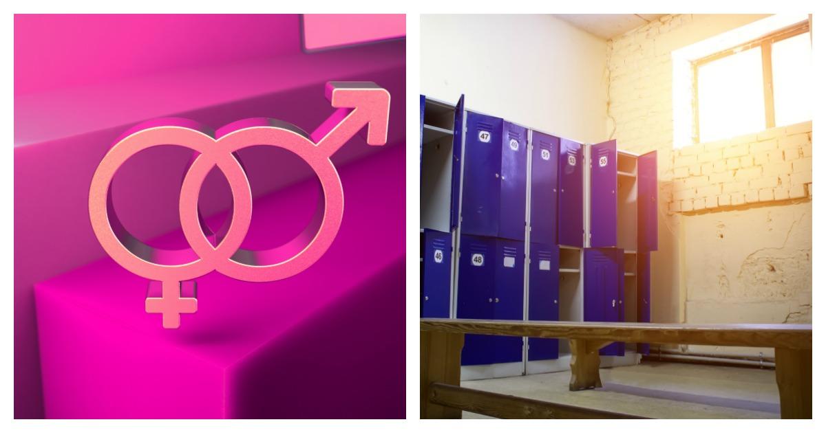 UC Berkeley is opening a gender inclusive locker room on campus Tuesday. Left, SHUTTERSTOCK/Denis Mikheev/ Right, SHUTTERSTOCK/ Igor Bukhlin