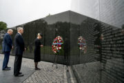 Gens Mattis And Kelly Escort Cindy McCain To Pay Her Final Respects At Vietnam Memorial [PICTURES]
