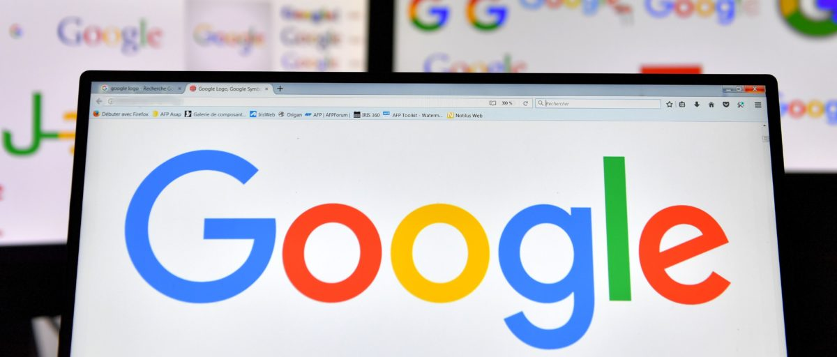 A picture taken on November 20, 2017 shows logos of US multinational technology company Google displayed on computers' screens. / AFP PHOTO / LOIC VENANCE (Photo credit should read LOIC VENANCE/AFP/Getty Images)