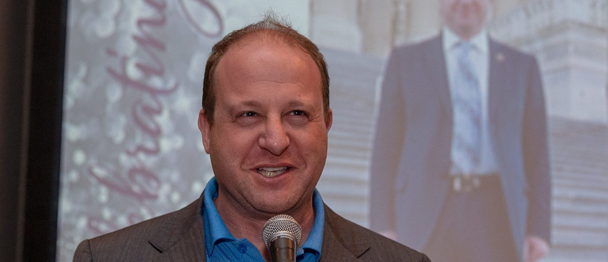 Congressman Jared Polis (CO) speaks at the Mayflower Hotel on May 9, 2018 in Washington, DC. Photo by Tasos Katopodis/Getty Images for PFLAG