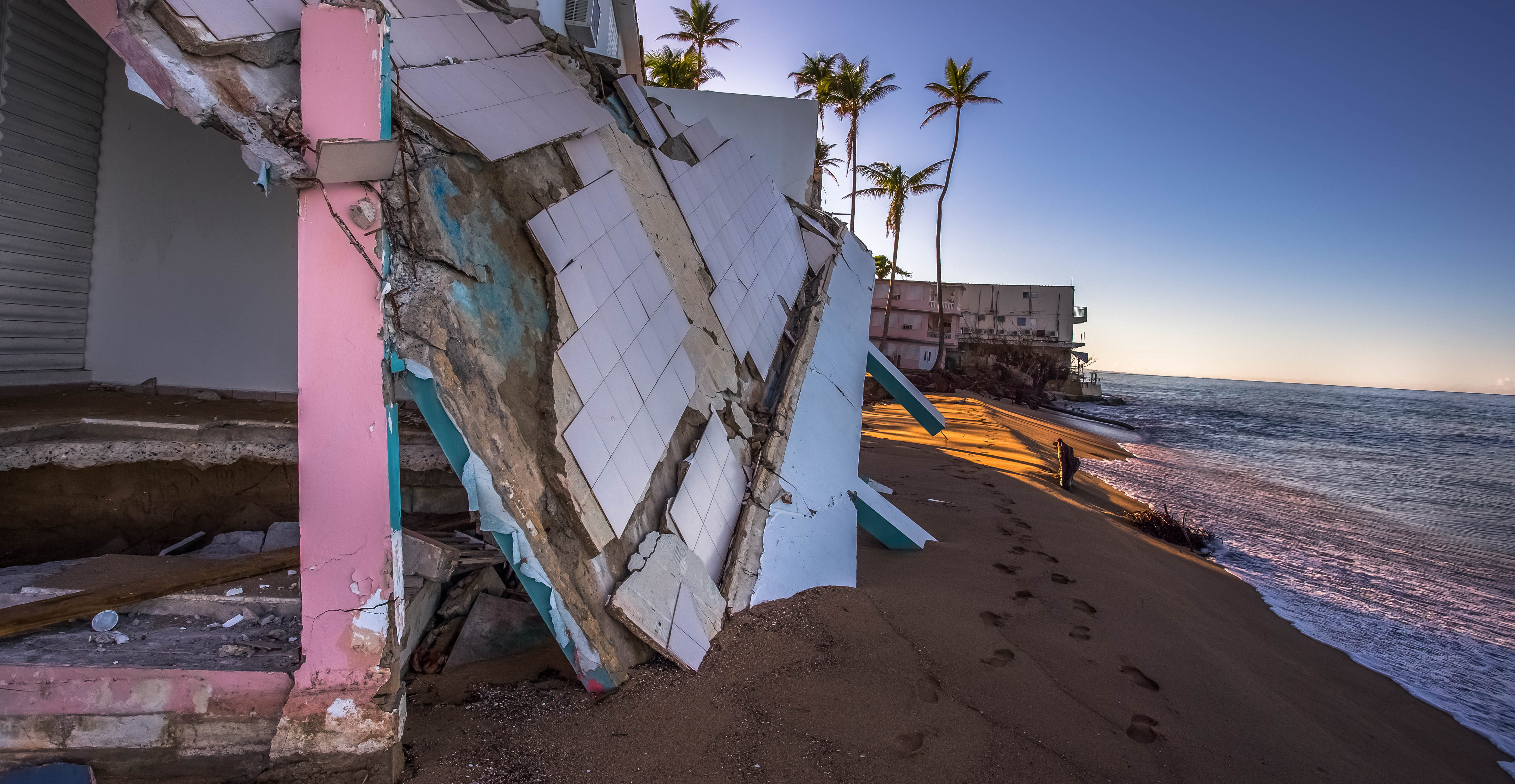 House After Hurricane Maria (Shutterstock/RaiPhoto)