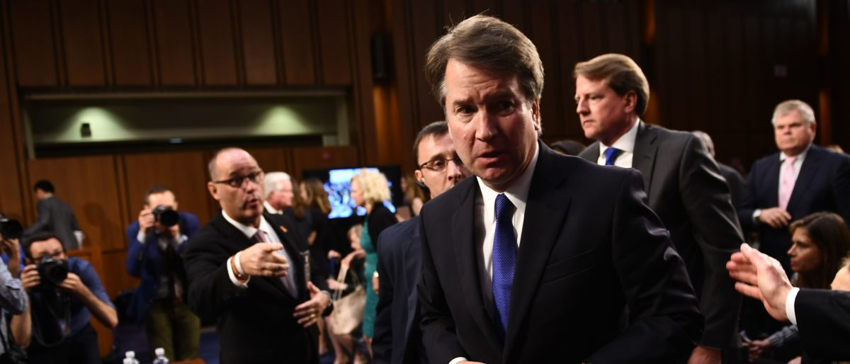 Parkland Father Claims He Was Snubbed By Kavanaugh, Video Shows Otherwise