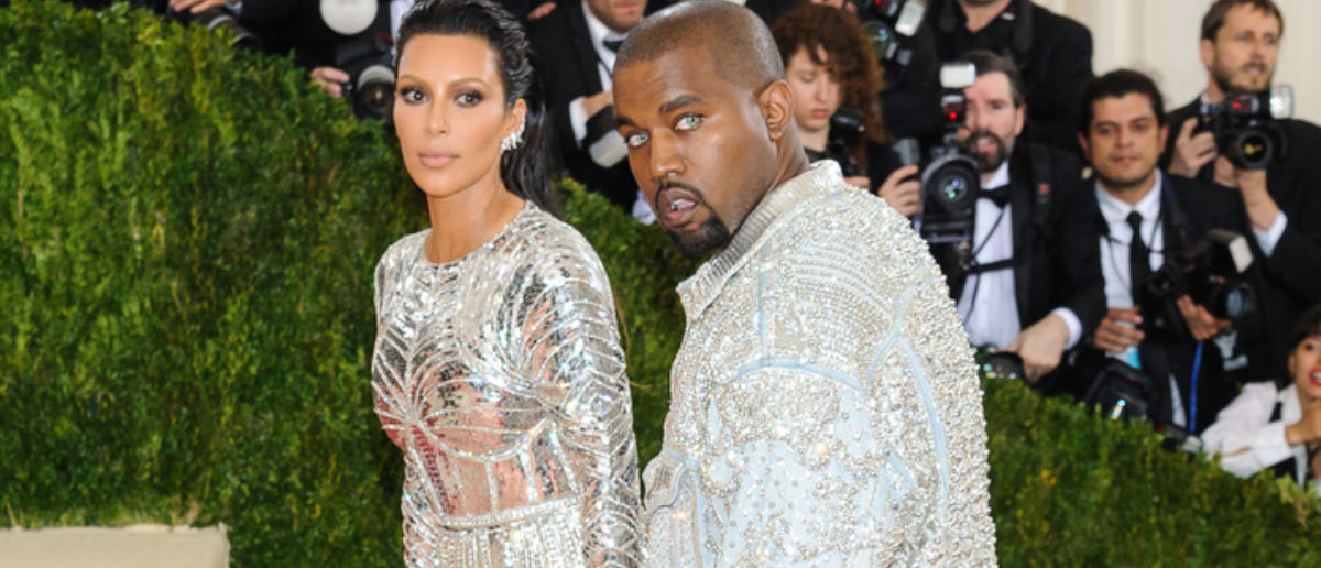 May 2, 2016 - New York, New York, USA - Kanye West and Kim Kardashian arrive at the Metropolitan Museum of Art Costume Institute Gala Manus x Machina: Fashion in the Age of Technology (SHUTTERSTOCK)