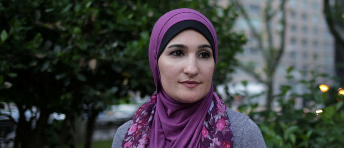 Muslim American activist Linda Sarsour was arrested for interrupting the Senate confirmation hearing for Brett Kavanaugh REUTERS/Amr Alfiky