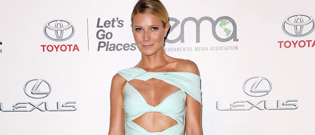 Actress Gwyneth Paltrow attends the 25th annual EMA Awards presented by Toyota and Lexus and hosted by the Environmental Media Association at Warner Bros. Studios on October 24, 2015 in Burbank, California. (Photo by Frederick M. Brown/Getty Images)