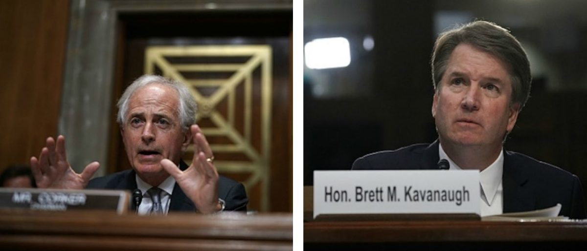 Corker Calls New Kavanaugh Accusations 'Thin' — Process 'Feels More Like A Circus' | The Daily Caller