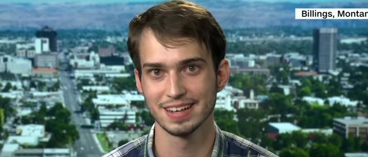 Plaid Shirt Guy discusses Trump rally (CNN screengrab)